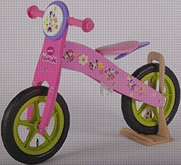 Todo sobre bicicleta sin pedales minnie mouse madera