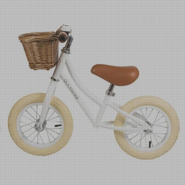 Review de bici sin pedales blanco