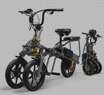 Review de scooter bicicleta de tres ruedas grandes y estable electrica